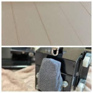 滑り止めテープのCSR試験